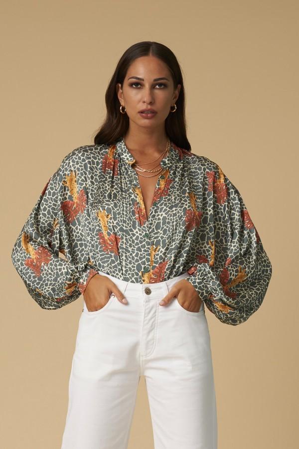 Camicia giraffe